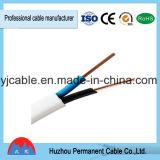 2X1.5mm, 3X1.5mm PVC duplo bainha condutor de alumínio elétrico cobre fio