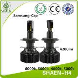 H4 4200lm bulbo 30W P7 LED Faro