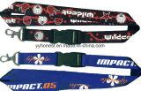 Рекламные Custom шелк трафаретной печати полиэстер шейный ремешок