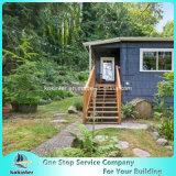 대나무 Decking 옥외 물가에 의하여 길쌈되는 무거운 대나무 마루 별장 룸 13