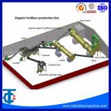 A combinação do teor de compostos orgânicos linha de processo de granulação