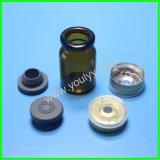 Bottiglie di vetro con la protezione del metallo