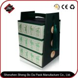 Tres capas de material reciclado Jewerlry personalizado Regalo/Papel cartón de embalaje