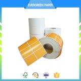 Escritura de la etiqueta termal adhesiva al por mayor de la transferencia para la impresión