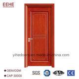 As portas de MDF composto de madeira simples Polonês