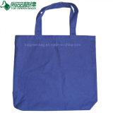 10oz sac fourre-tout en toile de coton bleu, 100% coton personnalisés sacs fourre-tout avec fermeture à glissière