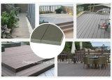 옥외 방수 처리하십시오--옥외를 위한 재생된 비 캡핑된 WPC 마루