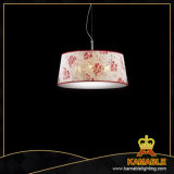 Flower Pattern Fabric Home hotel mansion counterpart Lamp (P6407-1)