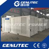 генератор контейнера 600kw 750kVA 50Hz молчком Perkins тепловозный