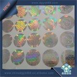 Diseño personalizado original troqueladas en 3D de la etiqueta etiqueta Holograma