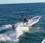 Liya 25FT Panga-Fischerboot-Fiberglas-Boot mit Bewegungsverkauf