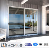 Het Dubbele Glas die van uitstekende kwaliteit van het Frame van het Aluminium van het Venster UPVC en van de Deur Deur vouwen