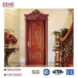 Heiße Verkaufs-Europa-Art-Bauholz-festes Holz-Tür