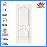 Non-Painted écologique de l'intérieur de la mélamine porte en bois de la peau (JHK-MN08)