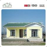Casa prefabricada de la construcción de viviendas del marco de acero de la calidad superior de China