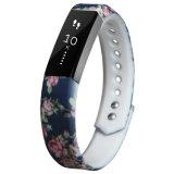 De Riem van het Horloge van het Silicone van de Druk van de Overdracht van de douane voor Fitbit Alta