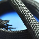 El tubo de fibra de carbono