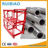 650*650*1508 sección del mástil de acero para construcción grúa