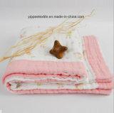 4 pieghe del bambino della coperta della mussola
