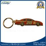 Corrente chave do metal feito sob encomenda do presente da lembrança dos carros
