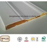 Materielle chinesische umweltsmäßigtannen-hölzerne Wand