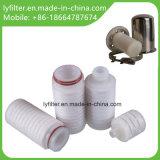 2.5 5 Zoll-PTFE gefaltete Luftfilter-Kassette mit gesundheitlicher Edelstahl-aseptischem Respirator