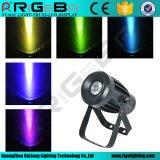 RGBW 10W 1LED PAR 16 Nuevo LED PAR Luz Can