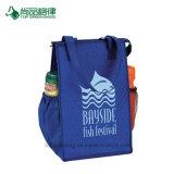 Personalizzare il sacchetto non tessuto durevole economico del dispositivo di raffreddamento del pranzo di grande tempo