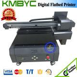 De Prijs Byc168-6A 60cm van de fabriek Flatbed Printer van Inkjet van 8 Kanaal de UV voor de Druk van het Leer