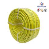 中国の製造者PVC庭水ホース/高圧バルク平らな編みこみの管