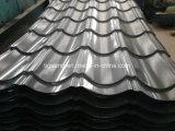 Zink beschichtete Dach-Fliesegewellte vorgestrichene Galvalume-Eisen-Blätter färben