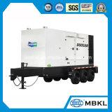 200kw/250kVA koreanisches Doosan Generator-Set mit kundenspezifischem leisem Kabinendach