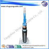 Силовой кабель обшитый изоляцией резиновый