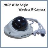 960p de CCTV Mic amplio ángulo de cámara de seguridad IP inalámbrica antivandálico