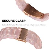 Più nuovo cinturino di vigilanza operato delle donne della resina della manopola per Iwatch Series3