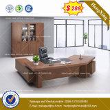 Pintura brilhante de alta de madeira MDF Mesa de escritório executivo (HX-8NE017)