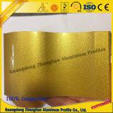 Aluminium extrudé pour l'électrophorèse de profil Profil d'électrophorèse de cristal de surface
