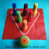 Giocattolo impostato dei perni di bowling della gomma piuma di NBR per i capretti