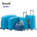 Bubuleアフリカ様式5部分の一定の安い工場卸売のトラック旅行トロリー荷物袋のスーツケースの収納箱一定Wl508