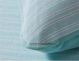 Caja europea de la almohadilla del algodón de la materia textil los 48*74cm del masaje del diseño casero de la raya