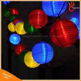 Indicatore luminoso leggiadramente alimentato solare della stringa festiva della lampada della lanterna dei 20 LED