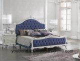 0036 신선한 백색 색칠은 은 단단한 나무 고아한 침대 룸 수집을 포함했다