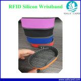 13.56MHz делают Wristband водостотьким силикона круга RFID для плавательного бассеина