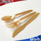 Jx143 het Promotie Beschikbare Plastic Bestek van het Vaatwerk