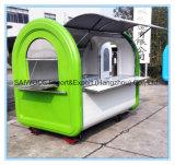 Vendita mobile del carrello dell'alimento del carrello dello spuntino