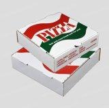 Haal het Bruine Vakje van de Pizza van de Douane van het Document van Kraftpapier weg