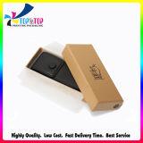 La impresión de OEM de embalaje de regalo Caja de papel Kraft marrón