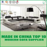 Divany Möbel-gesetztes modernes ledernes Sofa mit hölzernem Rahmen