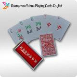 Tarjetas promocionales de encargo del póker de las tarjetas de las tarjetas que juegan