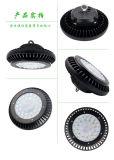 Compartiment élevé DEL de vente du blanc IP65 200W de doublure fraîche chaude d'UFO